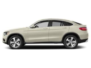 designo Diamond White Metallic 2019 Mercedes-Benz GLC Pictures GLC AMG GLC 43 4MATIC Coupe photos side view