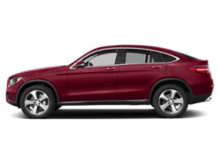 designo Cardinal Red Metallic 2019 Mercedes-Benz GLC Pictures GLC AMG GLC 43 4MATIC Coupe photos side view