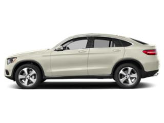 Polar White 2019 Mercedes-Benz GLC Pictures GLC GLC 300 4MATIC Coupe photos side view