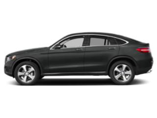 Selenite Grey Metallic 2019 Mercedes-Benz GLC Pictures GLC GLC 300 4MATIC Coupe photos side view
