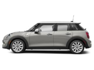 White Silver Metallic 2019 MINI Hardtop 4 Door Pictures Hardtop 4 Door Cooper FWD photos side view