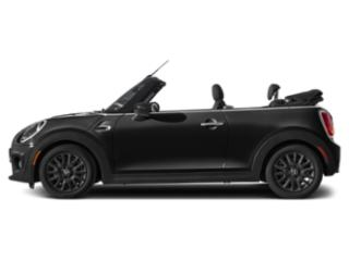 Midnight Black Metallic 2019 MINI Convertible Pictures Convertible Cooper FWD photos side view