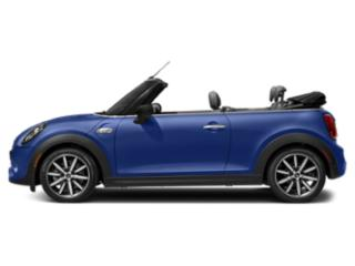 Starlight Blue Metallic 2019 MINI Convertible Pictures Convertible Cooper FWD photos side view