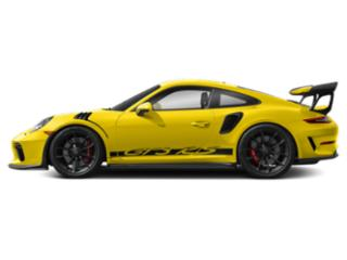 Racing Yellow 2019 Porsche 911 Pictures 911 GT3 RS Coupe photos side view
