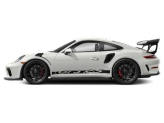 White 2019 Porsche 911 Pictures 911 GT3 RS Coupe photos side view