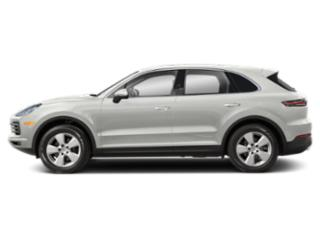 White 2019 Porsche Cayenne Pictures Cayenne AWD photos side view