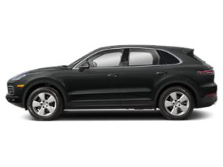 Jet Black Metallic 2019 Porsche Cayenne Pictures Cayenne AWD photos side view