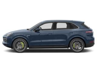 Biscay Blue Metallic 2019 Porsche Cayenne Pictures Cayenne E-Hybrid AWD photos side view