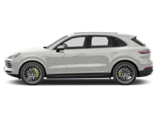 White 2019 Porsche Cayenne Pictures Cayenne E-Hybrid AWD photos side view