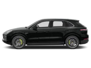 Jet Black Metallic 2019 Porsche Cayenne Pictures Cayenne E-Hybrid AWD photos side view