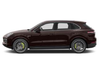 Mahogany Metallic 2019 Porsche Cayenne Pictures Cayenne E-Hybrid AWD photos side view