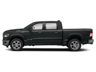 Maximum Steel Metallic Clearcoat 2019 Ram Truck 1500 Pictures 1500 Tradesman 4x4 Crew Cab 5'7 Box photos side view