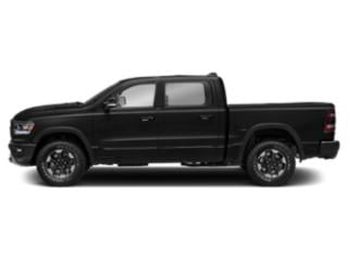 Diamond Black Crystal Pearlcoat 2019 Ram Truck 1500 Pictures 1500 Rebel 4x4 Crew Cab 5'7 Box photos side view