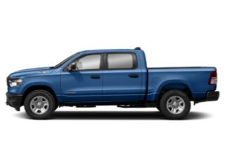 Blue Streak Pearlcoat 2019 Ram Truck 1500 Pictures 1500 Tradesman 4x4 Crew Cab 5'7 Box photos side view