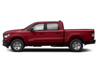 Flame Red Clearcoat 2019 Ram Truck 1500 Pictures 1500 Tradesman 4x2 Crew Cab 5'7 Box photos side view