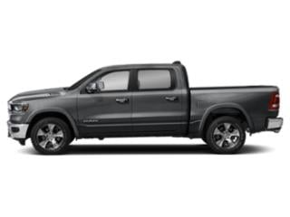 Billet Silver Metallic Clearcoat 2019 Ram Truck 1500 Pictures 1500 Laramie 4x2 Crew Cab 5'7 Box photos side view