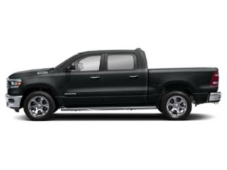 Maximum Steel Metallic Clearcoat 2019 Ram Truck 1500 Pictures 1500 Tradesman 4x4 Quad Cab 6'4 Box photos side view