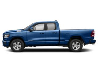 Blue Streak Pearlcoat 2019 Ram Truck 1500 Pictures 1500 Tradesman 4x4 Quad Cab 6'4 Box photos side view
