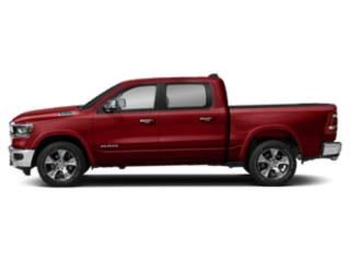 Flame Red Clearcoat 2019 Ram Truck 1500 Pictures 1500 Laramie 4x2 Crew Cab 5'7 Box photos side view