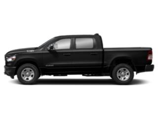 Diamond Black Crystal Pearlcoat 2019 Ram Truck 1500 Pictures 1500 Tradesman 4x4 Quad Cab 6'4 Box photos side view
