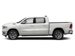 Ivory White Tri-Coat Pearlcoat 2019 Ram Truck 1500 Pictures 1500 Longhorn 4x2 Crew Cab 6'4 Box photos side view