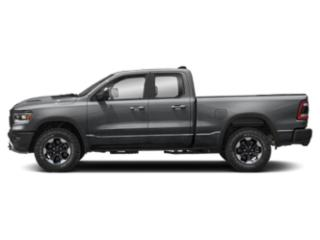 Billet Silver Metallic Clearcoat 2019 Ram Truck 1500 Pictures 1500 Longhorn 4x2 Crew Cab 5'7 Box photos side view