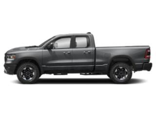 Billet Silver Metallic Clearcoat 2019 Ram Truck 1500 Pictures 1500 Laramie 4x2 Crew Cab 6'4 Box photos side view
