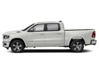 Ivory White Tri-Coat Pearlcoat 2019 Ram Truck 1500 Pictures 1500 Laramie 4x4 Crew Cab 5'7 Box photos side view