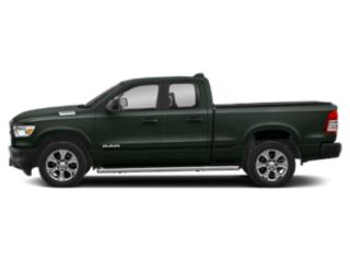 Black Forest Green Pearlcoat 2019 Ram Truck 1500 Pictures 1500 Tradesman 4x4 Quad Cab 6'4 Box photos side view