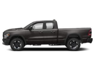 Granite Crystal Metallic Clearcoat 2019 Ram Truck 1500 Pictures 1500 Rebel 4x4 Quad Cab 6'4 Box photos side view