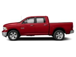 Bright Red 2019 Ram Truck 1500 Classic Pictures 1500 Classic SLT 4x2 Crew Cab 5'7 Box photos side view