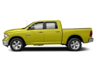 National Safety Yellow 2019 Ram Truck 1500 Classic Pictures 1500 Classic Big Horn 4x2 Crew Cab 5'7 Box photos side view