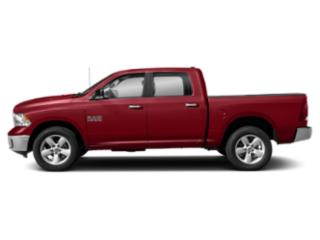 Flame Red Clearcoat 2019 Ram Truck 1500 Classic Pictures 1500 Classic Big Horn 4x2 Crew Cab 5'7 Box photos side view