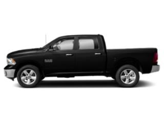 Diamond Black Crystal Pearlcoat 2019 Ram Truck 1500 Classic Pictures 1500 Classic SLT 4x2 Crew Cab 5'7 Box photos side view