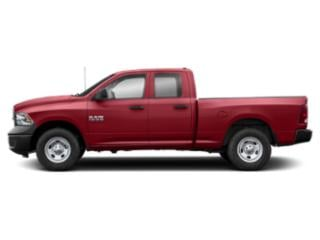Flame Red Clearcoat 2019 Ram Truck 1500 Classic Pictures 1500 Classic Express 4x4 Quad Cab 6'4 Box photos side view