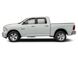 Bright White Clearcoat 2019 Ram Truck 1500 Classic Pictures 1500 Classic SLT 4x2 Crew Cab 6'4 Box photos side view