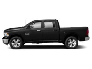 Brilliant Black Crystal Pearlcoat 2019 Ram Truck 1500 Classic Pictures 1500 Classic Lone Star 4x2 Crew Cab 6'4 Box photos side view