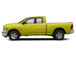 National Safety Yellow 2019 Ram Truck 1500 Classic Pictures 1500 Classic SLT 4x4 Quad Cab 6'4 Box photos side view