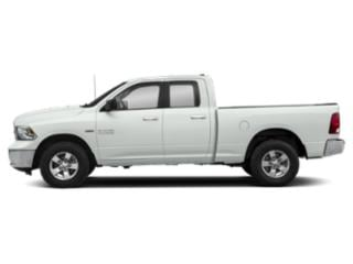 Bright White Clearcoat 2019 Ram Truck 1500 Classic Pictures 1500 Classic SLT 4x4 Quad Cab 6'4 Box photos side view