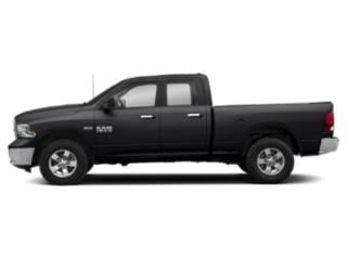 Black Clearcoat 2019 Ram Truck 1500 Classic Pictures 1500 Classic SLT 4x4 Quad Cab 6'4 Box photos side view