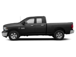 Brilliant Black Crystal Pearlcoat 2019 Ram Truck 1500 Classic Pictures 1500 Classic SLT 4x4 Quad Cab 6'4 Box photos side view
