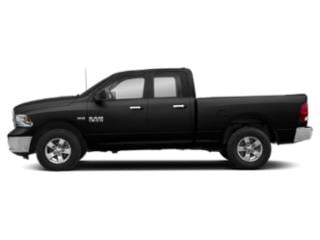 Diamond Black Crystal Pearlcoat 2019 Ram Truck 1500 Classic Pictures 1500 Classic Lone Star 4x2 Quad Cab 6'4 Box photos side view