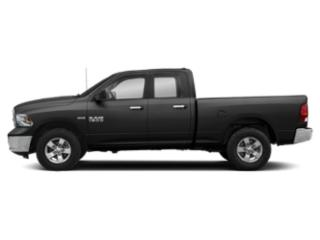 Brilliant Black Crystal Pearlcoat 2019 Ram Truck 1500 Classic Pictures 1500 Classic Big Horn 4x2 Quad Cab 6'4 Box photos side view