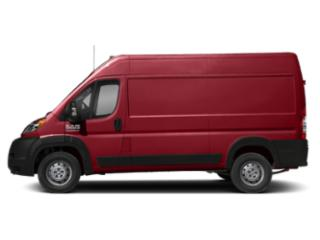 Flame Red Clearcoat 2019 Ram Truck ProMaster Cargo Van Pictures ProMaster Cargo Van 2500 Low Roof 136 WB photos side view