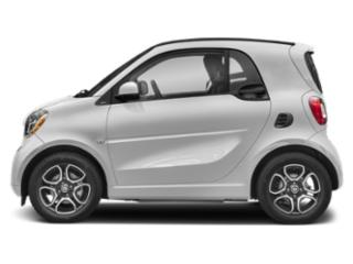 Cool Silver Metallic 2019 smart EQ fortwo Pictures EQ fortwo pure coupe photos side view