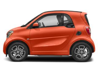 Lava Orange Metallic 2019 smart EQ fortwo Pictures EQ fortwo pure coupe photos side view