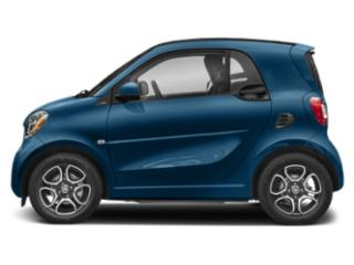 Midnight Blue Metallic 2019 smart EQ fortwo Pictures EQ fortwo pure coupe photos side view