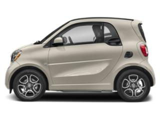 Moon White Matte 2019 smart EQ fortwo Pictures EQ fortwo pure coupe photos side view