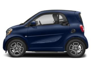 Sapphire Blue Metallic 2019 smart EQ fortwo Pictures EQ fortwo pure coupe photos side view