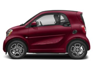 Carmine Red Metallic 2019 smart EQ fortwo Pictures EQ fortwo pure coupe photos side view